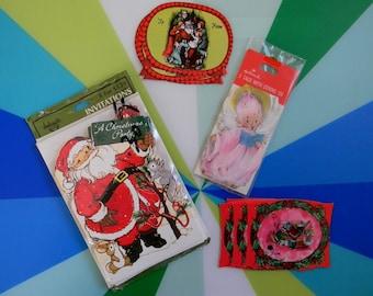 Vintage Lot of Christmas Paper Ephemera