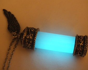 Glow in the Dark Supernatural Angel Grace Necklace Pendant v.2
