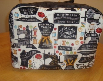 Retro Sewing Machine Cover