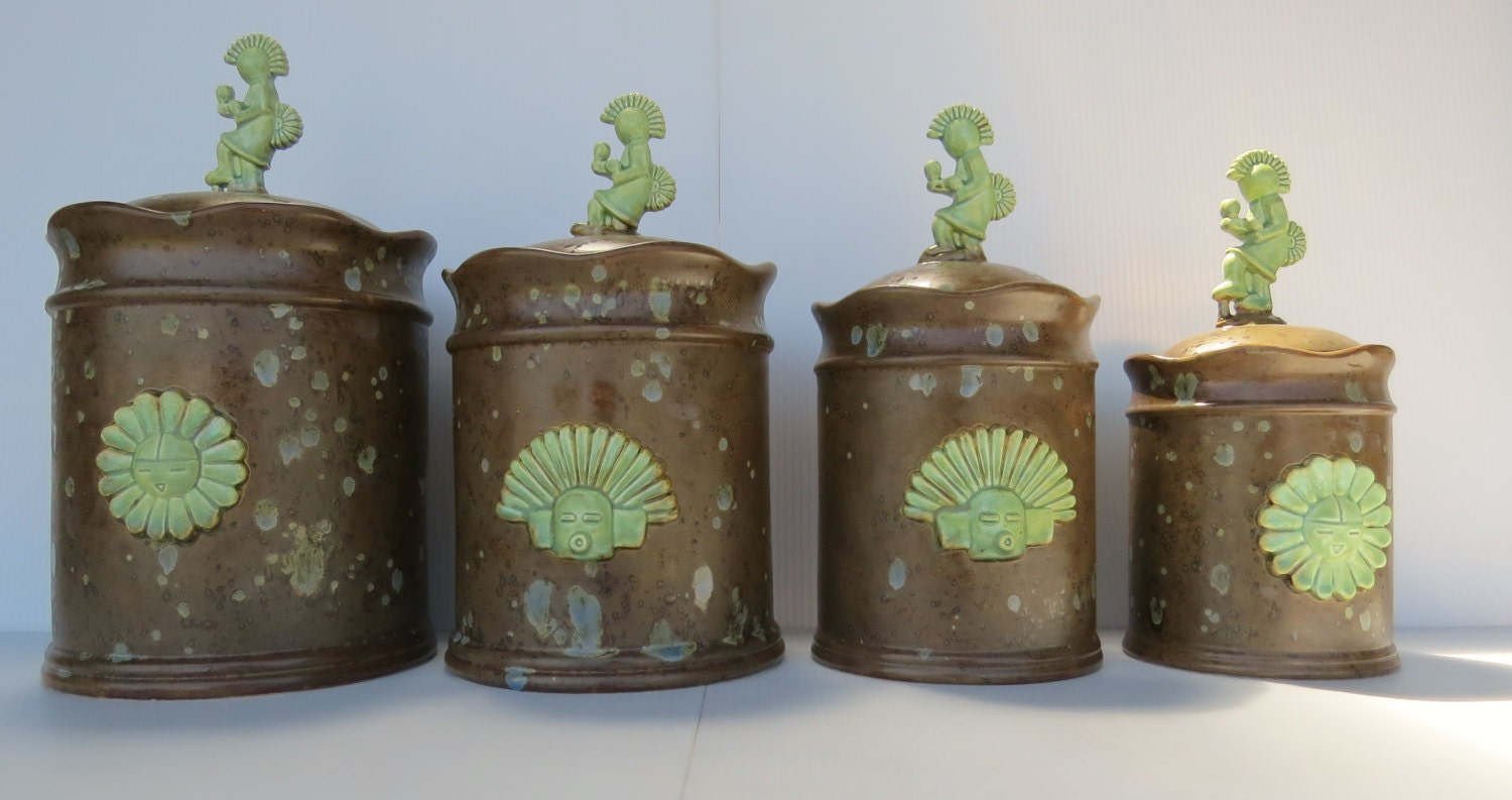style kitchen canisters kitchen canisters southwestern canister set santa fe style