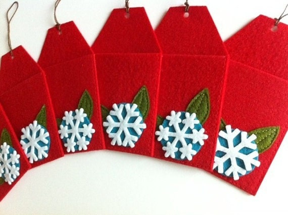 Items Similar To Christmas Tree Gift Card Holders