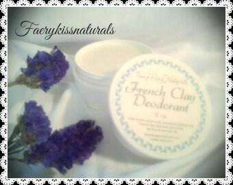 French Clay Deodorant Cream