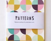 Geometrics Cards - Geometric and colors - print