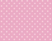 Dream a Little Dream Stitched Garden by Camelot Fabric Tonal Pink Polka Dots Dot