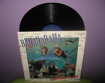 HOLIDAY SALE Vinyl Record Album Bananarama - Deep Sea Skiving LP 1983 New Wave Pop Synth Dance