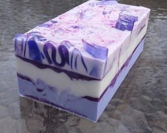 Hydrangea Soap Loaf