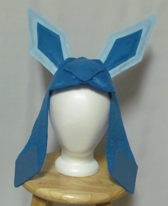 glaceon fleece hat by - photo #37