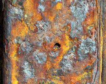 Rust and Decay on the British Coastline - Dis/Integration Series Fine Art Photo Print  - Museum Quality Wall Art, Various Sizes And Finishes