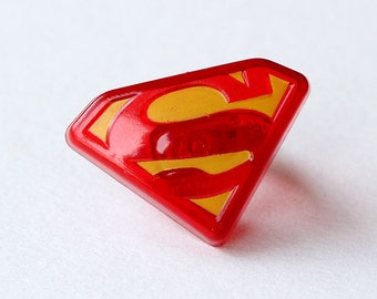 Superman Cupcake Toppers (set of 12)