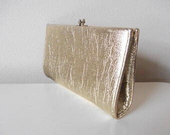 Gold Foil 60s Clutch
