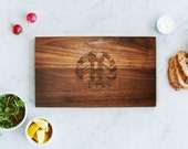 Engraved Cutting Board - Personalized Wedding Gift - Wedding Gift - Engagement Gift - Kitchen Decor