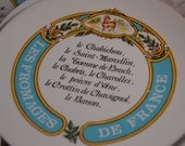 Vintage French Limoges Set of 6 Cheese Plates