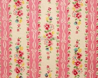 Ribbon stripe - Pink by Atsuko Matsuyama - Printed in Japan