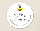 What Will It Bee - Personalized address labels - Sheet of 24