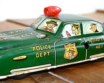 Original 1949 Marx USA Dick Tracy car