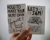 MAKER PACK! two how-to-zines for yogurt and jam making