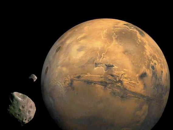 mars planet 2moons - photo #12