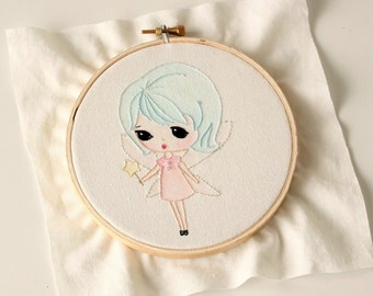 Fairy pdf Embroidery pdf Pattern - Instant Download