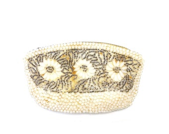 Vintage Beaded Coin Purse - Free Shipping
