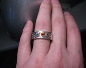 Flames of Chaos Ring size 7.5 Unisex