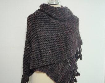 Luxury Knitting extra long shawl wrap style