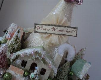 Christmas Winterland Centerpiece