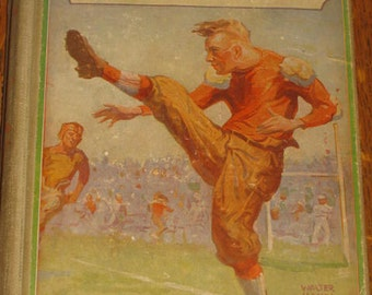 Sports Book Fall Guy Gift High School Freshmen Book 1910 H Irving Hancock Sports Graphics Hardbound Book First Year Pranks And Sports