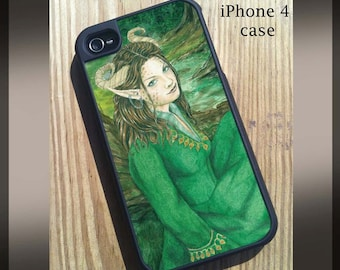 iPhone 4/4s Case Lady ofthe Forest Art