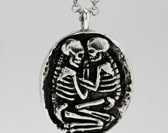 Skeleton Lovers Necklace The Valdaro Lovers Necklace (Made in NYC)