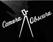 Camera Obscura, Black and White Photography, Mid Century Modern, Retro, Office Decor, Photographers Collectors