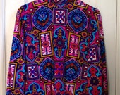 Stained glass patterned tunic
