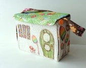 Fairy House with Interchangeable Scenes- FrivolTees Original - Made to fit FrivolTees' Pocket Fairies - Custom