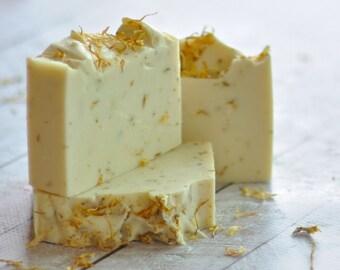 Orange Lavender Patchouli Soap - Vegan Soap Shea Butter Soap - Artisan Essential Oil Soap - Clementine
