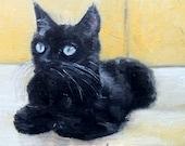 COMMISSION Pet Portrait Cat 24 x 30 cm oil painting