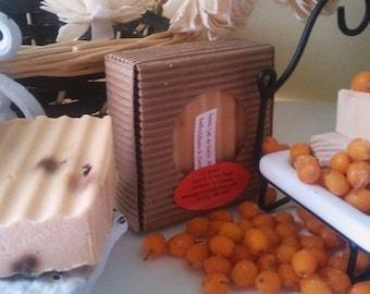 Seabuckthorn in Coconut Milk Vegan Soap