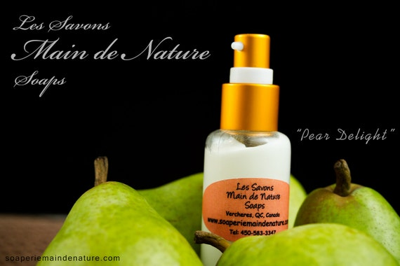 Eco Paraben Free Sweet Pear Mosturizing Lotion