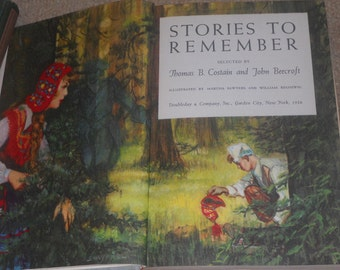 Stories To Remember-Volume 1-Thomas B. Costain, John Beecroft-1956