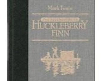 The Adventures of Huckleberry Finn-Mark Twain-Reader's Digest-1986