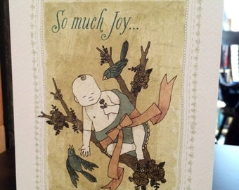 So Much Joy Greeting Card