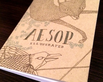 12 Aesop Fables Illustrated Book