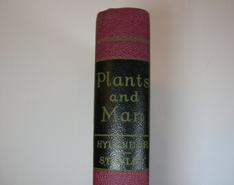 IISALEII Vintage Plants And Man Book 1947