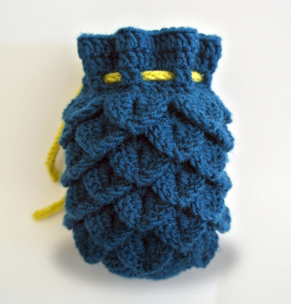 Dragon Scale Dice Bag Pattern only