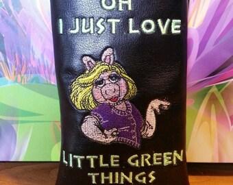 Miss Piggy Custom pipe pouch