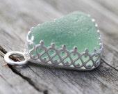 Genuine Hawaiian Sea Glass Pendant