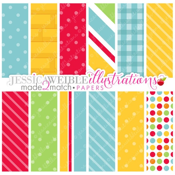 Wizard of Oz Cute Digital Papers - Commercial Use Ok - Yellow Brick Road Paper - Made 2 Match Wizard of Oz Backgrounds