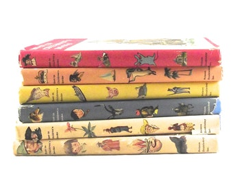 "Children's Book Collection, Set of 6 ""Best in Children's Books"" Anthologies A4"