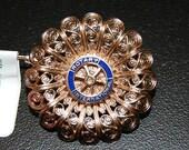 Vintage Rotary International Brooch Pin