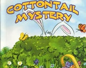 Personalized  Childrens Easter Book  THE COTTONTAIL MYSTERY Ships in 24 hours  Now also available in Italian