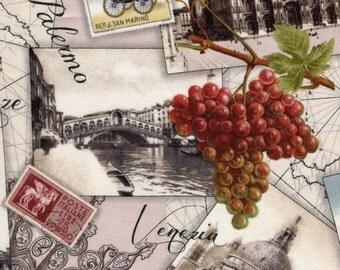 Italian Vineyard - Elizabeth Studios - Half Yard