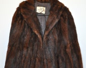 Sale Use PromoCode for Discount 1950's Vintage Fur Coat
